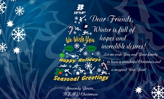 Happy Holidays and Seasonal Greetings from Belarusian Federation of Modern Pentathlon